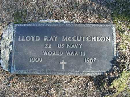 MCCUTCHEON  (VETERAN WWII), LLOYD RAY - Boone County, Arkansas   LLOYD RAY MCCUTCHEON  (VETERAN WWII) - Arkansas Gravestone Photos