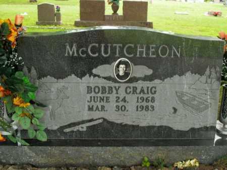 MCCUTCHEON, BOBBY CRAIG - Boone County, Arkansas | BOBBY CRAIG MCCUTCHEON - Arkansas Gravestone Photos