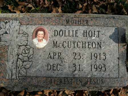 MCCUTCHEON, DOLLIE - Boone County, Arkansas | DOLLIE MCCUTCHEON - Arkansas Gravestone Photos