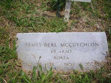 MCCUTCHEON (VETERAN KOR), JAMES DERL - Boone County, Arkansas | JAMES DERL MCCUTCHEON (VETERAN KOR) - Arkansas Gravestone Photos