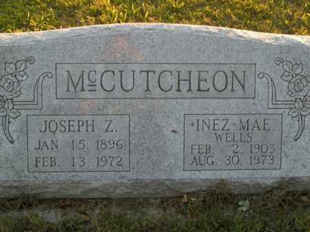 MCCUTCHEON, JOSEPH ZEPHINA - Boone County, Arkansas | JOSEPH ZEPHINA MCCUTCHEON - Arkansas Gravestone Photos
