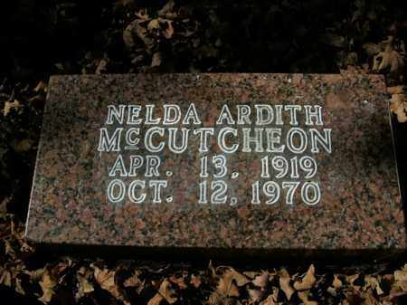 MCCUTCHEON, NELDA ARDITH - Boone County, Arkansas | NELDA ARDITH MCCUTCHEON - Arkansas Gravestone Photos