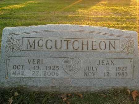 MCCUTCHEON, VERL - Boone County, Arkansas | VERL MCCUTCHEON - Arkansas Gravestone Photos