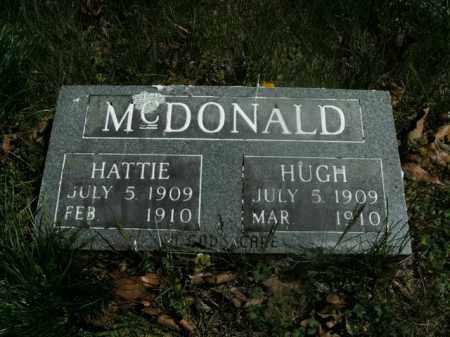 MCDONALD, HATTIE - Boone County, Arkansas | HATTIE MCDONALD - Arkansas Gravestone Photos