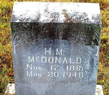 MCDONALD, HENRY MARCELUS - Boone County, Arkansas | HENRY MARCELUS MCDONALD - Arkansas Gravestone Photos