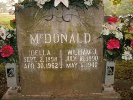 MCDONALD, IDELLA - Boone County, Arkansas | IDELLA MCDONALD - Arkansas Gravestone Photos