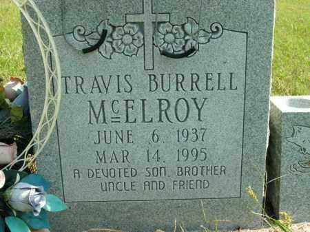 MCELROY, TRAVIS BURRELL - Boone County, Arkansas | TRAVIS BURRELL MCELROY - Arkansas Gravestone Photos