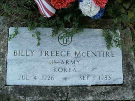 MCENTIRE  (VETERAN KOR), BILLY TREECE - Boone County, Arkansas | BILLY TREECE MCENTIRE  (VETERAN KOR) - Arkansas Gravestone Photos