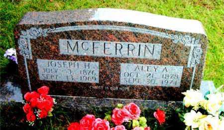 MCFERRIN, JOSEPH HENRY - Boone County, Arkansas | JOSEPH HENRY MCFERRIN - Arkansas Gravestone Photos