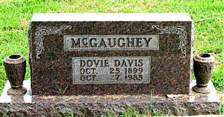 MCGAUGHEY, DOVIE DAVIS - Boone County, Arkansas | DOVIE DAVIS MCGAUGHEY - Arkansas Gravestone Photos