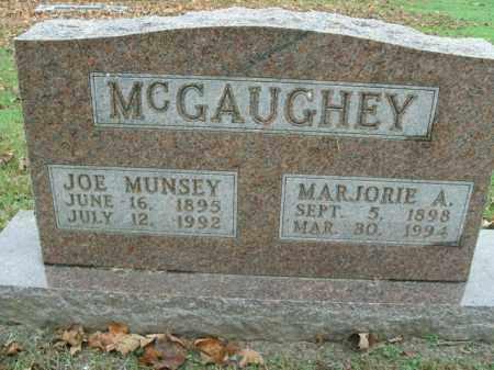 MCGAUGHEY, JOE MUNSEY - Boone County, Arkansas | JOE MUNSEY MCGAUGHEY - Arkansas Gravestone Photos