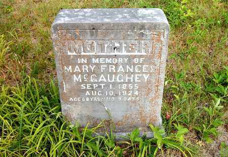 MCGAUGHEY, MARY FRANCES - Boone County, Arkansas   MARY FRANCES MCGAUGHEY - Arkansas Gravestone Photos