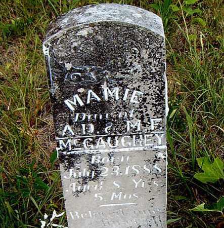 MCGAUGHEY, MAMIE - Boone County, Arkansas | MAMIE MCGAUGHEY - Arkansas Gravestone Photos