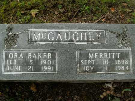 MCGAUGHEY, ORA B. - Boone County, Arkansas | ORA B. MCGAUGHEY - Arkansas Gravestone Photos