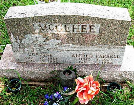 MILES MCGEHEE, CORINNE - Boone County, Arkansas   CORINNE MILES MCGEHEE - Arkansas Gravestone Photos