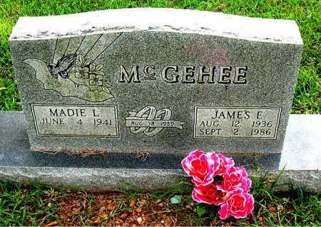 MCGEHEE, JAMES E. - Boone County, Arkansas | JAMES E. MCGEHEE - Arkansas Gravestone Photos