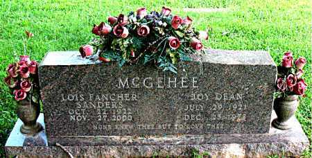 MCGEHEE, JOY DEAN - Boone County, Arkansas | JOY DEAN MCGEHEE - Arkansas Gravestone Photos