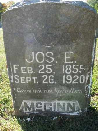 MCGINN, JOSEPH E. - Boone County, Arkansas | JOSEPH E. MCGINN - Arkansas Gravestone Photos