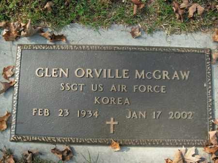 MCGRAW  (VETERAN KOR), GLEN ORVILLE - Boone County, Arkansas   GLEN ORVILLE MCGRAW  (VETERAN KOR) - Arkansas Gravestone Photos