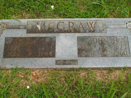 MCGRAW, JOHN HENRY - Boone County, Arkansas | JOHN HENRY MCGRAW - Arkansas Gravestone Photos