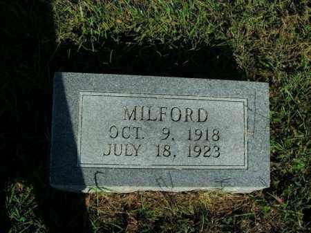 MCGRAW, MILFORD - Boone County, Arkansas | MILFORD MCGRAW - Arkansas Gravestone Photos