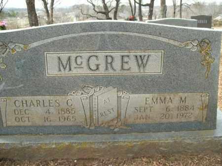 MCGREW, EMMA MAY - Boone County, Arkansas   EMMA MAY MCGREW - Arkansas Gravestone Photos