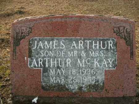 MCKAY, JAMES ARTHUR - Boone County, Arkansas | JAMES ARTHUR MCKAY - Arkansas Gravestone Photos