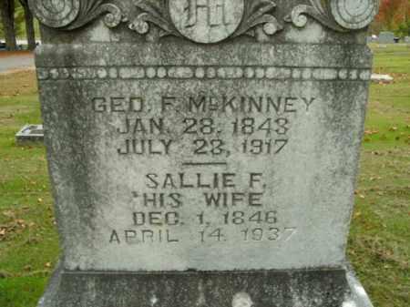 MCKINNEY, GEORGE F. - Boone County, Arkansas | GEORGE F. MCKINNEY - Arkansas Gravestone Photos