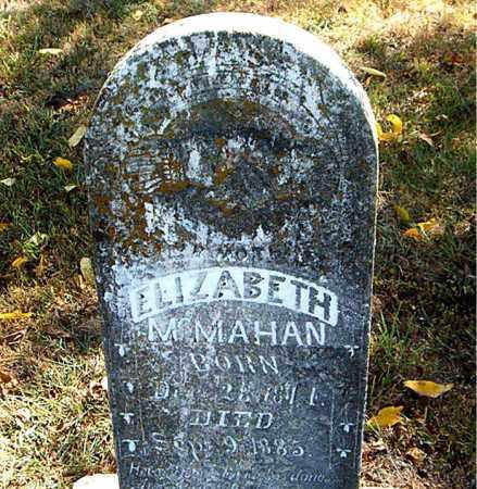 MCMAHAN, ELIZABETH - Boone County, Arkansas | ELIZABETH MCMAHAN - Arkansas Gravestone Photos