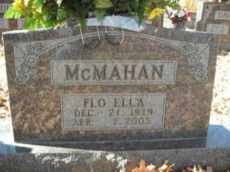 MCMAHAN, FLO ELLA - Boone County, Arkansas | FLO ELLA MCMAHAN - Arkansas Gravestone Photos