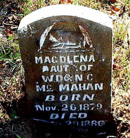 MCMAHAN, MAGDLENA - Boone County, Arkansas | MAGDLENA MCMAHAN - Arkansas Gravestone Photos