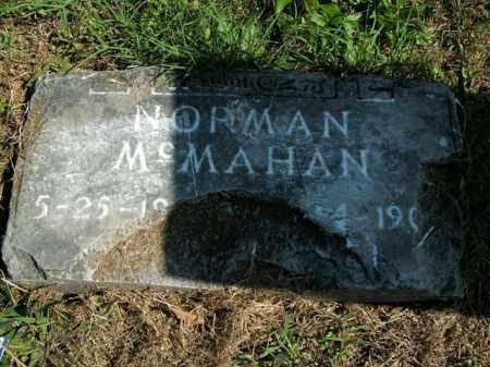 MCMAHAN, NORMAN - Boone County, Arkansas | NORMAN MCMAHAN - Arkansas Gravestone Photos