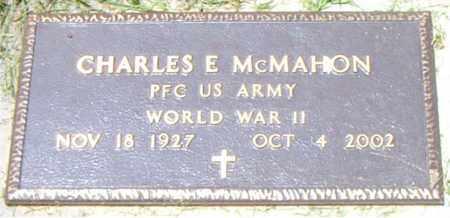 MCMAHON  (VETERAN WWII), CHARLES  E - Boone County, Arkansas | CHARLES  E MCMAHON  (VETERAN WWII) - Arkansas Gravestone Photos