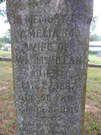 MCMILLAN, AMELIA M. - Boone County, Arkansas | AMELIA M. MCMILLAN - Arkansas Gravestone Photos
