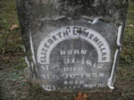 JONES MCMILLAN, ELIZEBETH L. - Boone County, Arkansas | ELIZEBETH L. JONES MCMILLAN - Arkansas Gravestone Photos