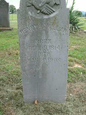 MCMILLAN, HENRY - Boone County, Arkansas | HENRY MCMILLAN - Arkansas Gravestone Photos