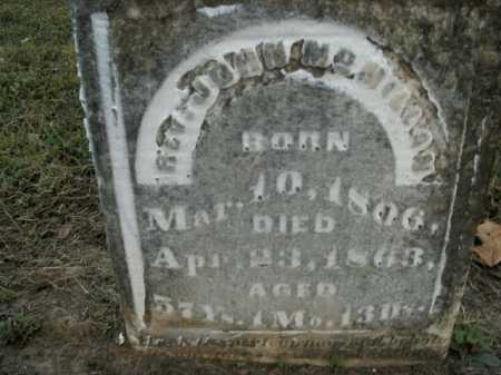 MCMILLAN, JOHN (REV) - Boone County, Arkansas | JOHN (REV) MCMILLAN - Arkansas Gravestone Photos