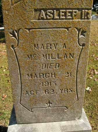 MCMILLAN, MARY A. - Boone County, Arkansas | MARY A. MCMILLAN - Arkansas Gravestone Photos