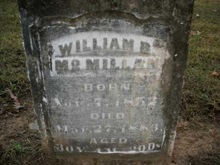 MCMILLAN, WILLIAM B. - Boone County, Arkansas   WILLIAM B. MCMILLAN - Arkansas Gravestone Photos