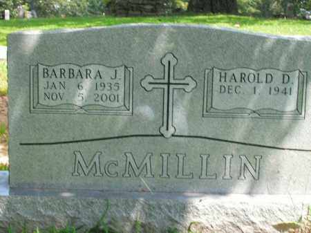 MCMILLIN, BARBARA J. - Boone County, Arkansas | BARBARA J. MCMILLIN - Arkansas Gravestone Photos
