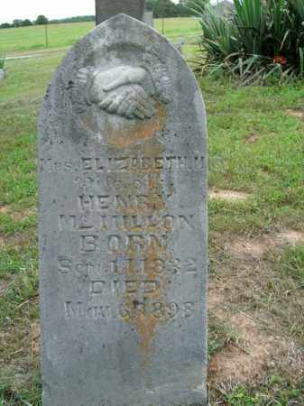 MCMILLON, ELIZABETH M. - Boone County, Arkansas   ELIZABETH M. MCMILLON - Arkansas Gravestone Photos