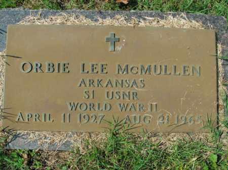 MCMULLEN  (VETERAN WWII), ORBIE LEE - Boone County, Arkansas   ORBIE LEE MCMULLEN  (VETERAN WWII) - Arkansas Gravestone Photos