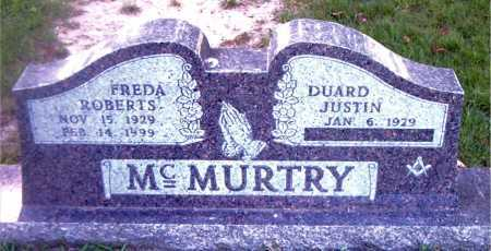 ROBERTS MCMURTRY, FREDA - Boone County, Arkansas | FREDA ROBERTS MCMURTRY - Arkansas Gravestone Photos