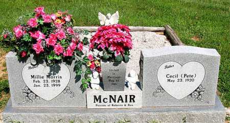 MCNAIR, MILLIE - Boone County, Arkansas | MILLIE MCNAIR - Arkansas Gravestone Photos