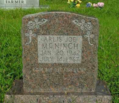 MCNINCH, ARLIS JOE - Boone County, Arkansas | ARLIS JOE MCNINCH - Arkansas Gravestone Photos