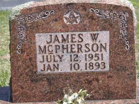 MCPHERSON, JAMES W. - Boone County, Arkansas | JAMES W. MCPHERSON - Arkansas Gravestone Photos