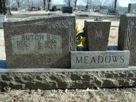 MEADOWS, BUTCH R. - Boone County, Arkansas | BUTCH R. MEADOWS - Arkansas Gravestone Photos