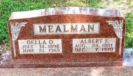 MEALMAN, ALBERT E. - Boone County, Arkansas | ALBERT E. MEALMAN - Arkansas Gravestone Photos