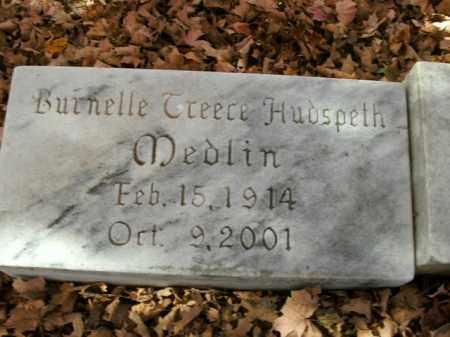 MEDLIN, BURNELLE - Boone County, Arkansas   BURNELLE MEDLIN - Arkansas Gravestone Photos