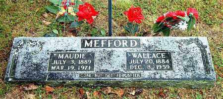 MEFFORD, MAUDIE - Boone County, Arkansas | MAUDIE MEFFORD - Arkansas Gravestone Photos